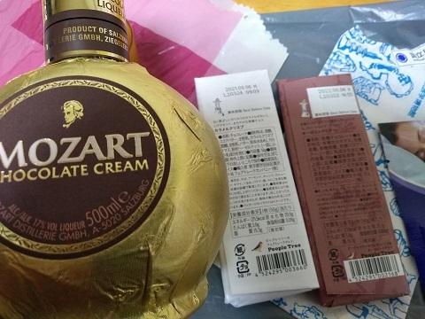 チョコレート酒