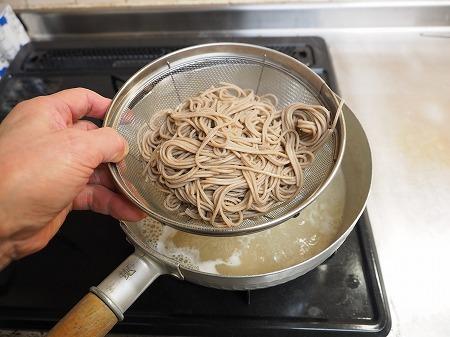 サバ納豆蕎麦の大根おろし味027