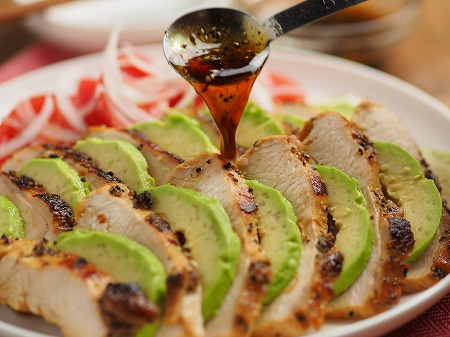 鶏むね肉のタバスコ焼き002