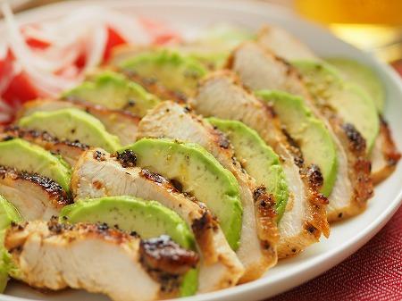 鶏むね肉のタバスコ焼き020