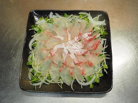 鯛と新玉ねぎの中華風サラダ044