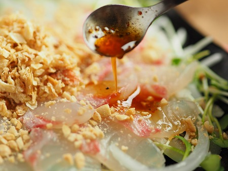 鯛と新玉ねぎの中華風サラダ005