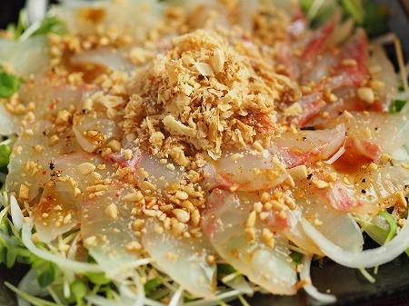 鯛と新玉ねぎの中華風サラダ021