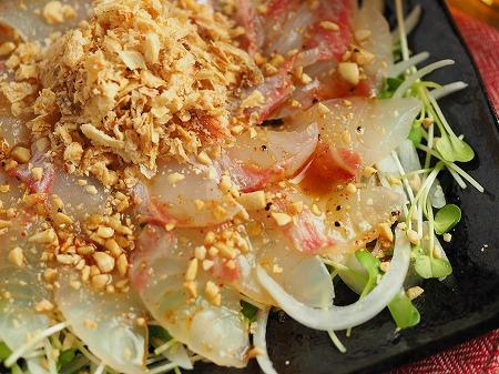 鯛と新玉ねぎの中華風サラダ024