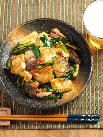サバ缶雷豆腐016