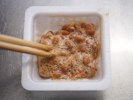 サバ缶と納豆のチャーハン025