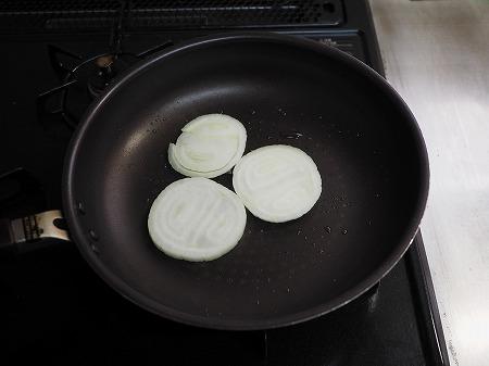 焼き新玉ねぎの卵丼034
