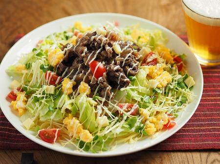 焼き肉サラダスパゲティ018
