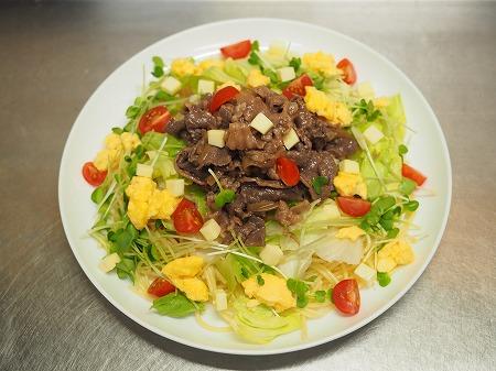 焼き肉サラダスパゲティ062