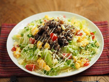焼き肉サラダスパゲティ021
