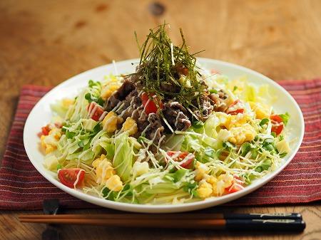 焼き肉サラダスパゲティ022