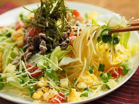 焼き肉サラダスパゲティ033