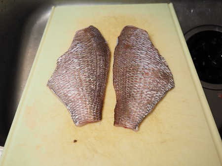 天然鯛の松皮つくり029