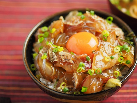 真鯛の漬け丼松皮004