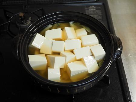 あさりと豆腐のオリーブ鍋044