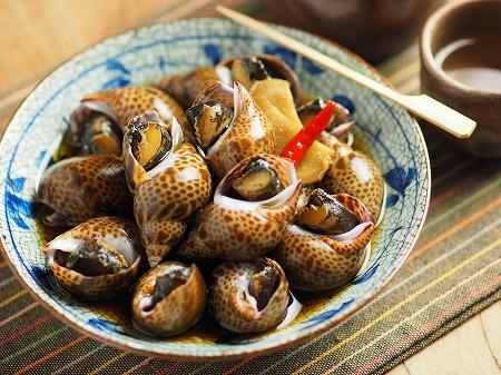 バイ貝煮付け012