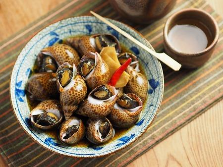 バイ貝煮付け010