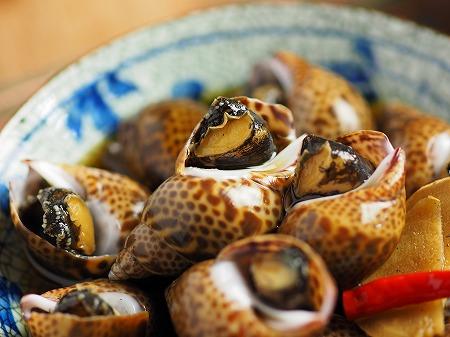 バイ貝煮付け014