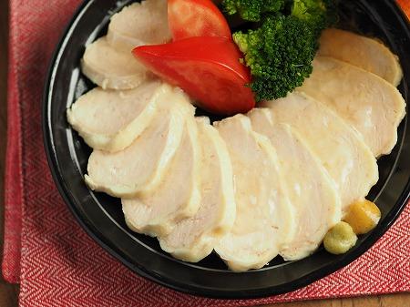フライパンで作り置きサラダチキ017