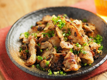 豚ばら肉の白だし焼き013