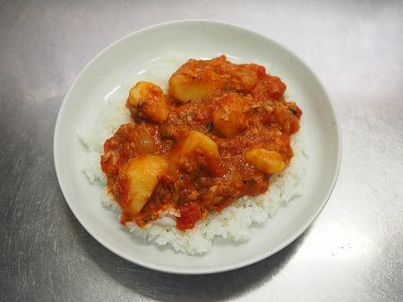 サバじゃがトマト煮ライス026