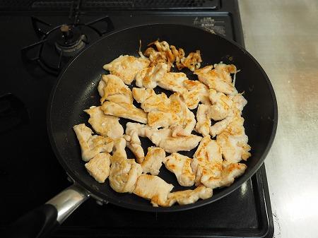鶏むね肉のフライパンすき焼き090