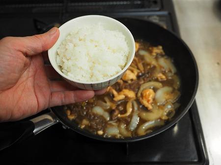 鶏むね肉のフライパンすき焼き104
