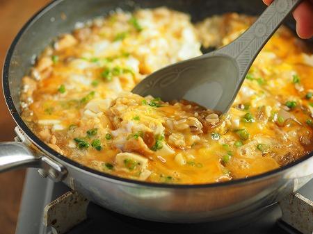 鶏むね肉のフライパンすき焼き051