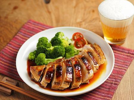 鶏むね肉の柔らか照り焼き005