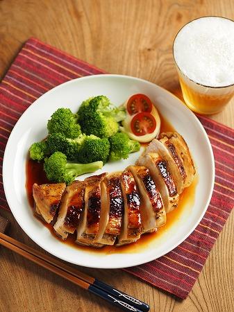 鶏むね肉の柔らか照り焼き013