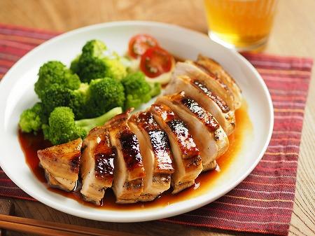 鶏むね肉の柔らか照り焼き009
