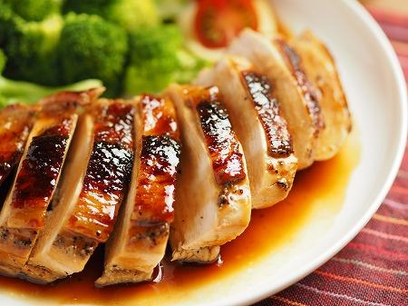 鶏むね肉の柔らか照り焼き017
