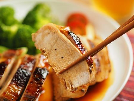 鶏むね肉の柔らか照り焼き023
