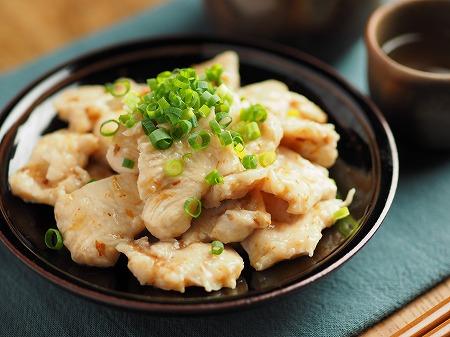 鶏むね肉水晶鶏梅肉和え013