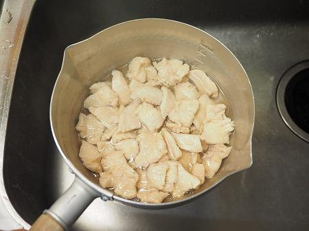 鶏むね肉水晶鶏梅肉和え040