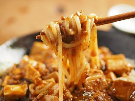 麻婆豆腐うどん017