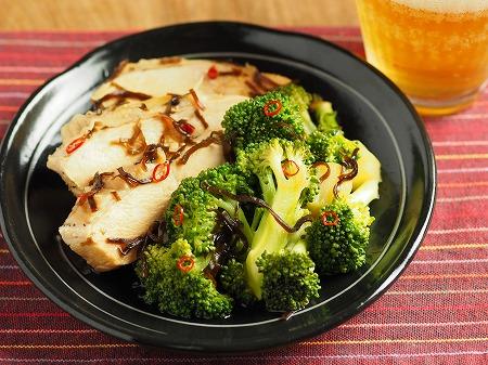 ブロッコリーと鶏むね肉の酢漬004
