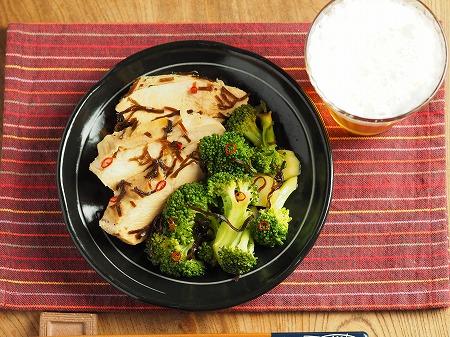 ブロッコリーと鶏むね肉の酢漬010