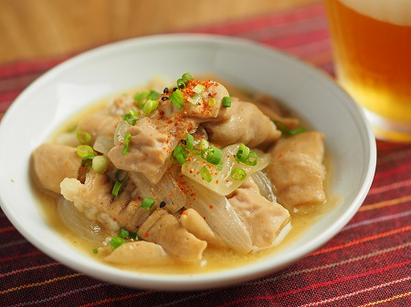 豚ホルモン味噌煮込み011
