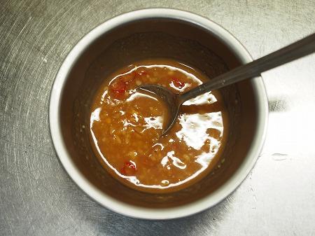 イカゲソ味噌バター炒め023