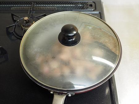 砂肝と鶏ハツのねぎ塩炒め042