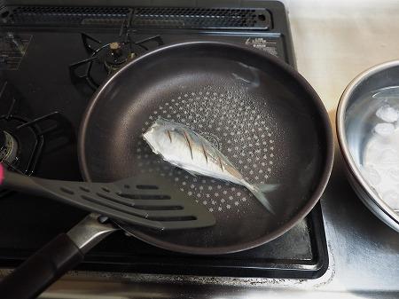 アジの梅酒煮029