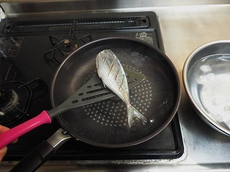 アジの梅酒煮030