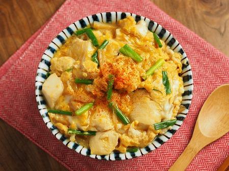 豆腐の卵とじ丼010