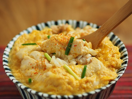 豆腐の卵とじ丼024