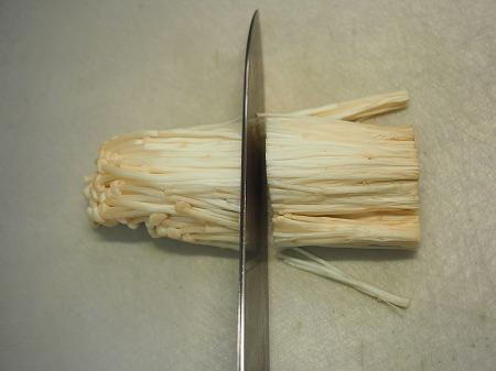 豆苗とエノキの旨味和え025