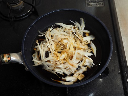 牛肉とごぼうの柳川024
