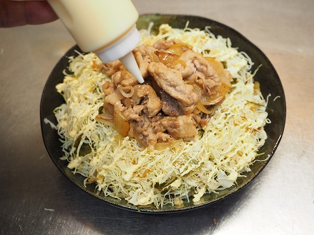 キャベセンと豚こま炒めのソーヨ039