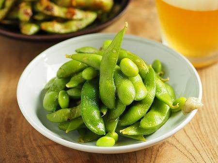 枝豆のわさび麺つゆ漬け008