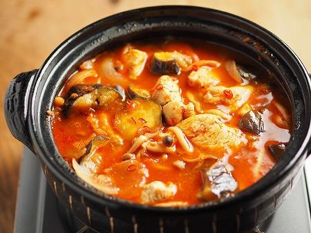 鶏むね肉と茄子のトマト鍋003